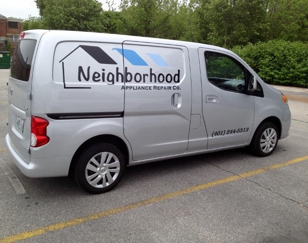 Van Logo Outside